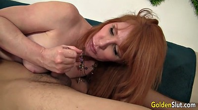 Boy, Granny boy, Old woman, Young boy, Mature blowjob, Woman