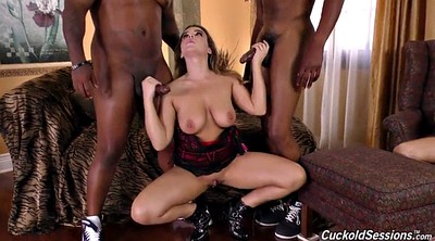 Natasha nice, Interracial cuckold