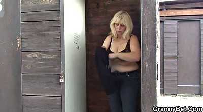 Stranger, Old couple, Young gangbang, Granny mature, Granny gangbang