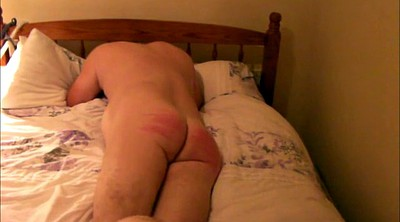 Caning, Caned, Nude