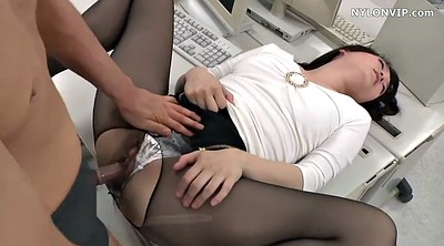 Pantyhose, Japanese office, Japanese pantyhose, Nylons, Japanese sex, Japanese nylon