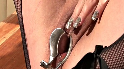 Speculum, Sounding, Close up pussy