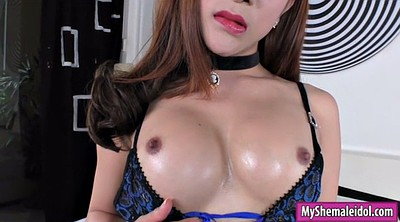 Shemale on shemale, Brunette anal, Ladyboy anal
