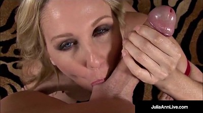 Julia ann, Julia, Big dick, Mature anne, Milf anne, Talking