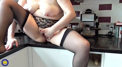 Saggy tits, British, Bbw mom, Saggy big tits
