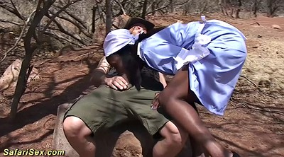 Interracial, Spanking ass