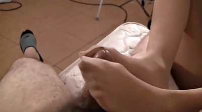 Footjob, Smell, Pantyhose feet, Feet smell, Pantyhose footjob