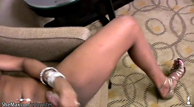 Ebony, Skin, Huge cock shemale, Huge