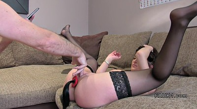 Stockings anal, Casting anal