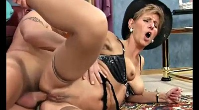 Granny anal, First anal, Anal mom, Sexy mom, German mom, German milf