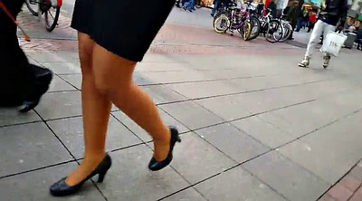 Skirt, Leg, Walk, Pantyhose leg