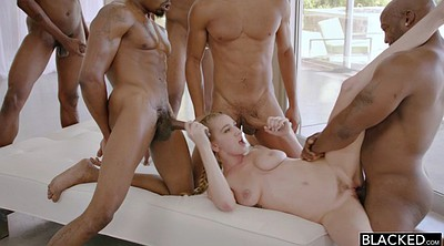 Interracial gangbang, Pigtail, Skinny ebony, Rough gangbang, Pigtails, Blonde interracial