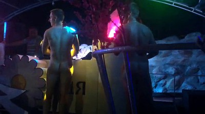 Part, Russian couple, Naked public