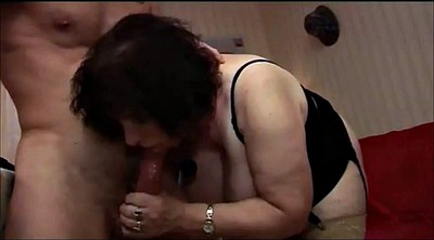 French, Mature creampie