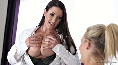 Natural tits, Lesbian doctor