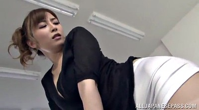 Pantyhose licking, Japanese pantyhose, Japanese office