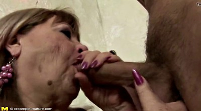 Creampie, Granny anal, Anal creampie, Mature anal