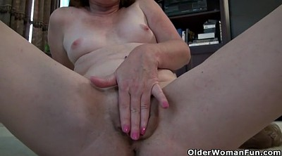 Mature dildo, Terry, Milf pantyhose