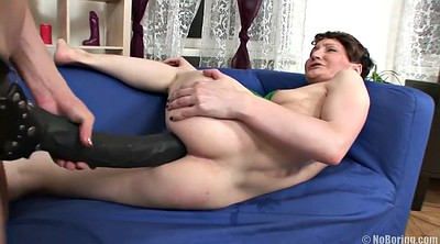 Strapon, Anal toy, Olga, Tears, Russian anal