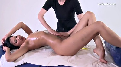 Russia, Asian oil, Shaving pussy, Massages