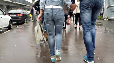 Jeans, Woman, Tight jeans, Voyeur woman