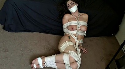 Foot gagging, Rope, Tape, Bdsm foot