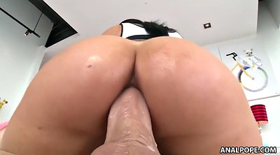 Romi rain, Gape, Ass to mouth