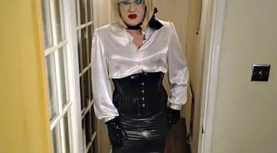 Satin, Secretary, Skirt