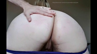 Wife spank, Spanked ass, Husband wife, Cum on ass, Ass fingering