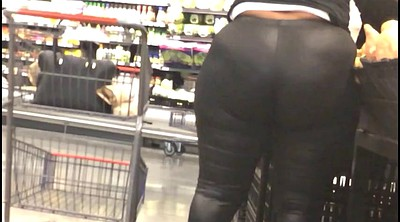 Huge, Spandex, Huge butt, Trash