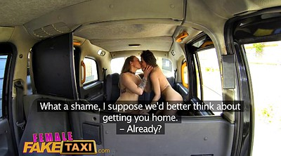 Fake taxi, Fake, Taxi, Female taxi, Eating pussy