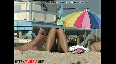 Beach, Flash, Nudism, Sun, Public flash