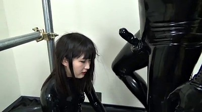 Japanese black, Latex, Asian bondage, Latex handjob, Japanese bondage, Japanese and black