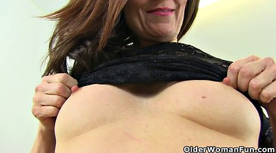 British, English, British milf, Driving, English mature
