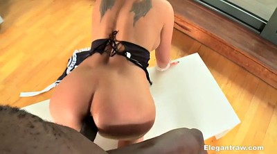 Black maid, Black cock, Black anal, French interracial