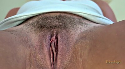 Hairy pussy, Hairy blonde