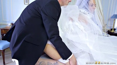 Bride, Anal bride, Fishnets, Simony, Monster cock anal, Monster anal