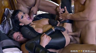 Romi rain, Gloves, Glove, Triple penetration, Triple