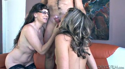 Hot mom, Mom share, Mom daughter, Share, Mom licks daughter, Mom horny