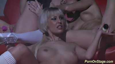 Lesbian orgy, Stage