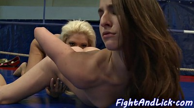 Beauty, Fight, Wrestling, Lesbian wrestling