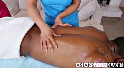 Asian black, Handsome, Masseuse, Handsome asian