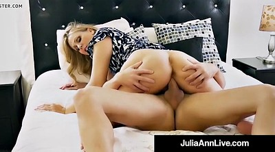 Julia ann, Step mom, Julia, Big tits mom, Step son, Step-mom