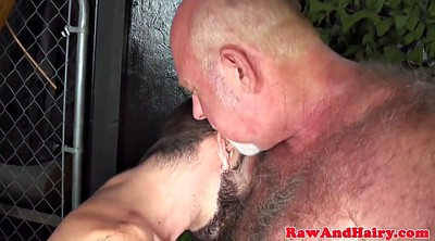 Leather, Cum in mouth