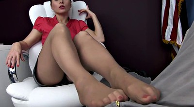 Pantyhose feet, Therapy, Pantyhose foot