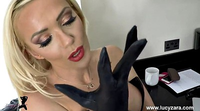 Gloves, Glove, Ebony masturbation