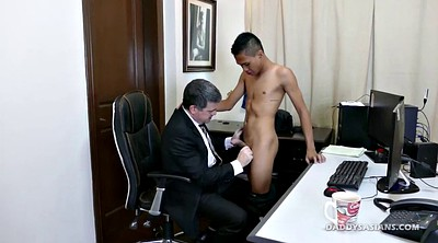 Dad, Asian office, Gay asian, Dad gay, Asian old gay