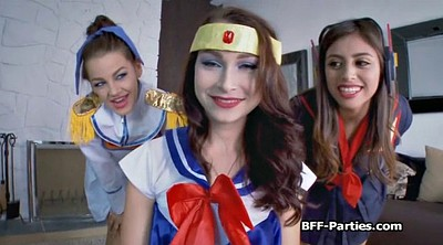 Cosplay, Foursome, Uniform