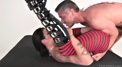 Milf anal, Devil, Lick, Tattooed milf, Riding anal, Chubby riding