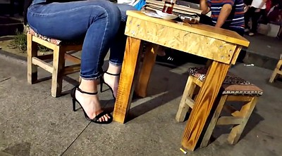 Foot fetish, High heels, Teen feet, Toes, Long toes, Foot teen